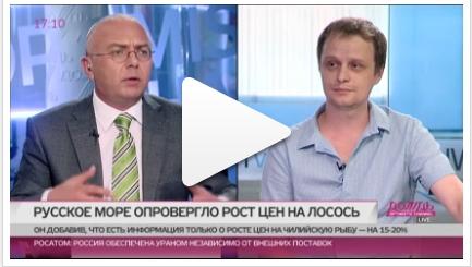 Калугин на телеканале ДОЖДЬ