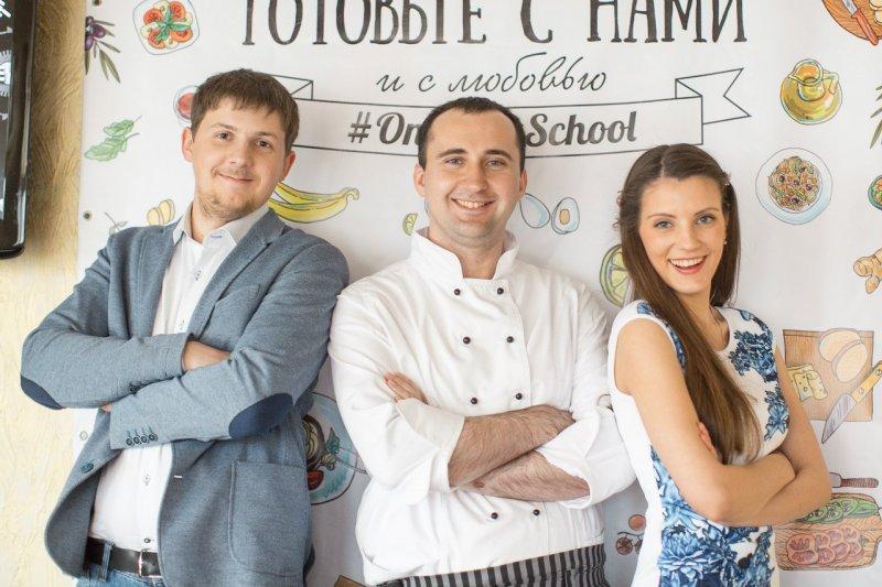 Команда проекта Первая Кулинарная Школа
