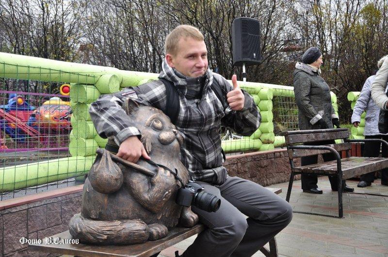 Дмитрий Качалов и кот Семён