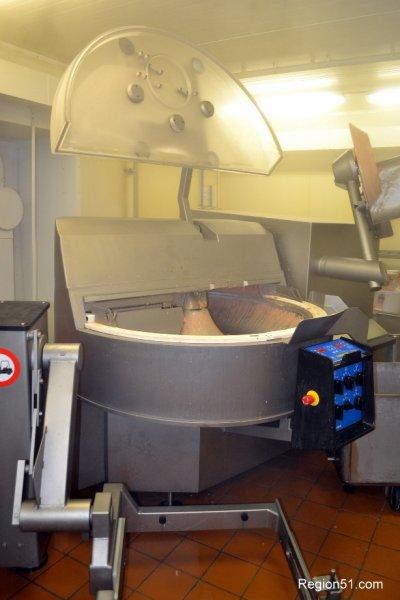 Куттер - машина для приготовления колбасного фарша