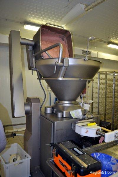 Оборудование для наполнения колбасных оболочек