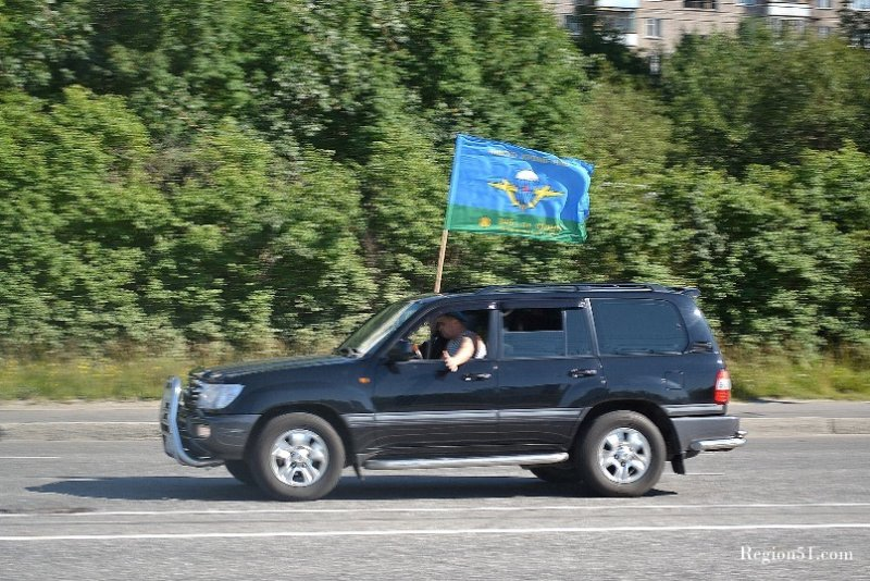 День ВДВ Мурманск 2011