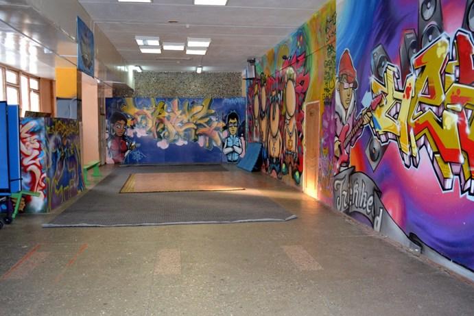 танцевальный зал в клубе Поиск