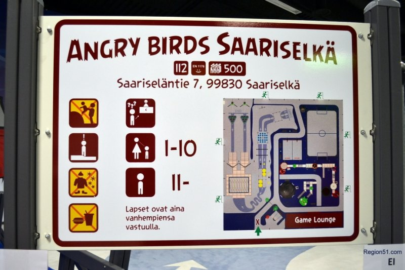 Angry Birds парк в Саарисельке