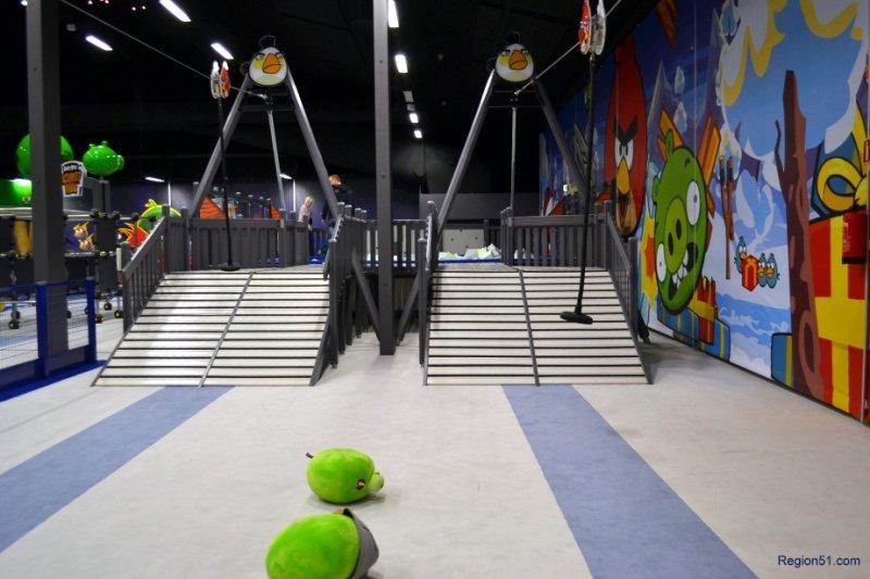 Angry Birds парк в Финляндии