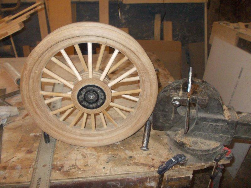 Готовое колесо до краш-теста