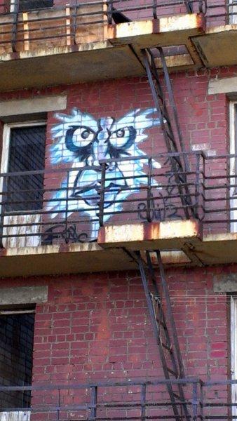 граффити на Крупской, Мурманск