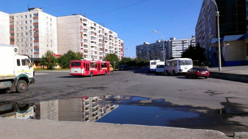 Конечная автобуса №5, 19