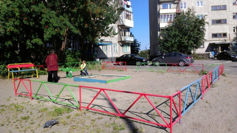 Площадка на Бабикова, дом №15