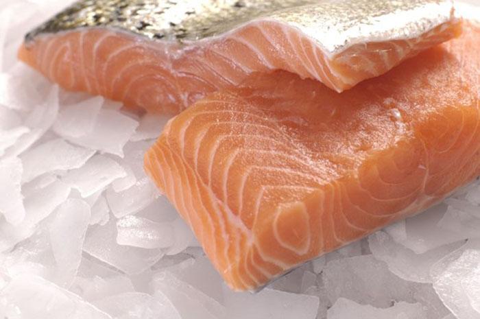 Охлажденный лосось