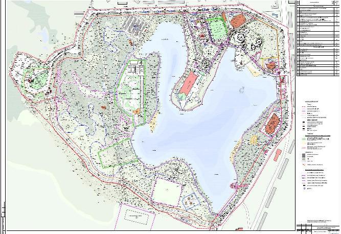 план развития территории вокруг Семеновского озера