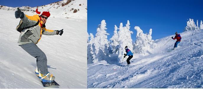 зимние виды спорта на Семеновском озере