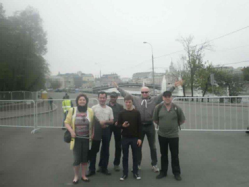 Мурманчане перед митингом на Болотной